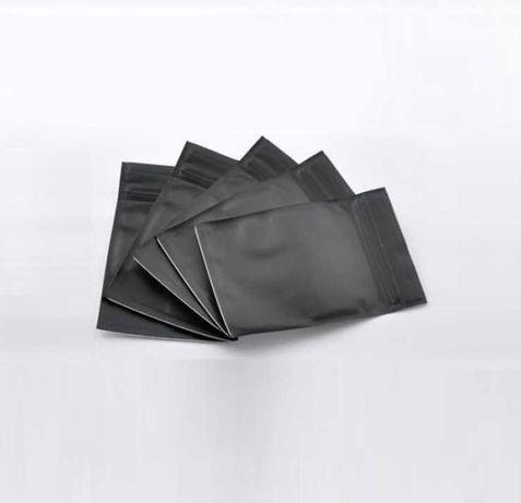 Пакет Саше 70х80 ЧЕРНЫЙ zip-замок (пакет подушка)