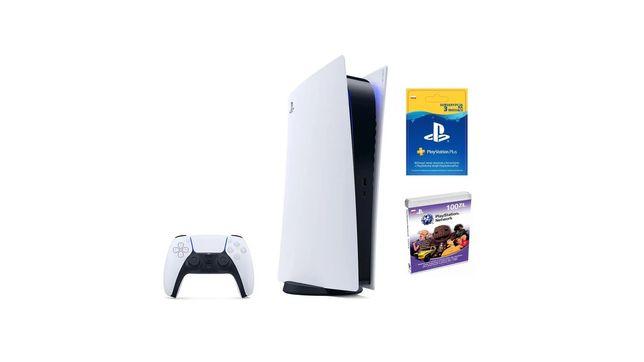 PlayStation 5 PS5 Digital nowa ps store 100zl 90 dni ps plus gw 2 lata