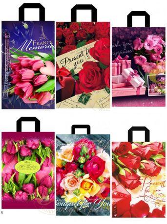Подарочные пакеты полиэтиленовые с ручкой budpolimer.com