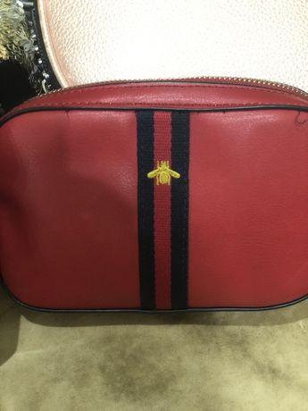 Две сумочки, рюкзачок, кошелек