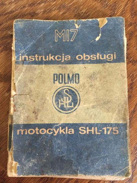 SHL M17 Gazela instrukcja obsługi.