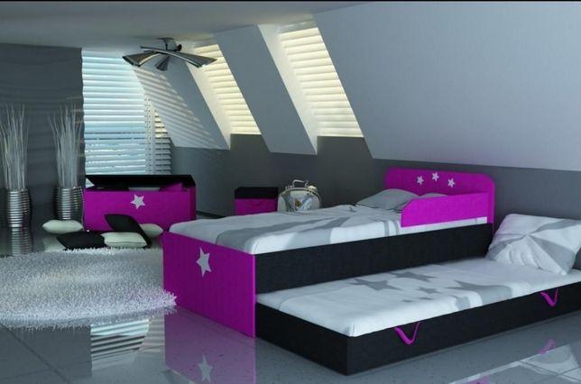 Łóżko piętrowe, lozko dla dzieci, dziecka, 3 wymiary