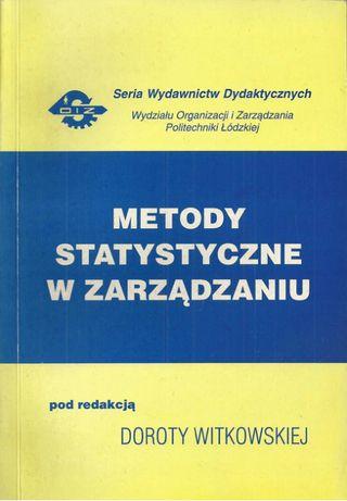 Metody statystyczne w zarządzaniu