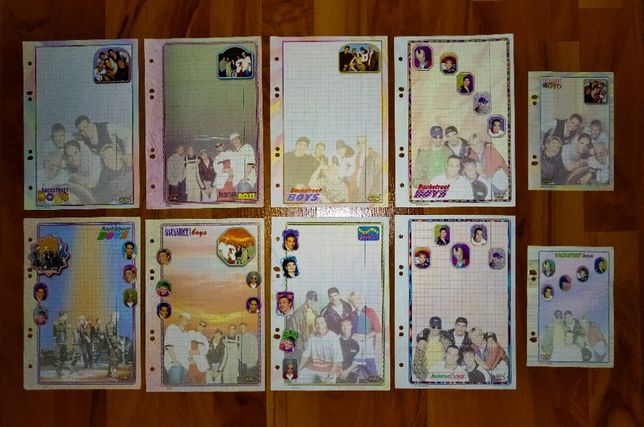 Karteczki Zespoły - A5 i A6 część 2