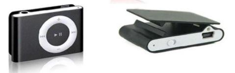 NOWY mini odtwarzacz MP3 z klips audio czarny słuchanie muzyki