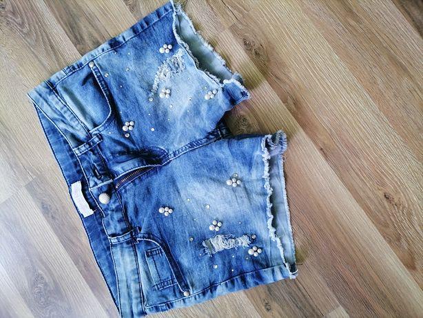 Spodenki Jeans r 152