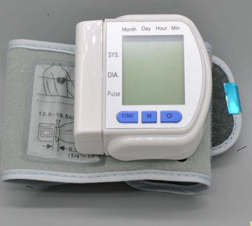 Зручний тонометр на зап'ястя автоматичний IQ System індикатор аритмії