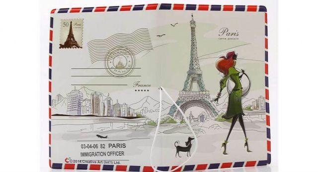 Обложка на паспорт Лондон_Париж 3Д