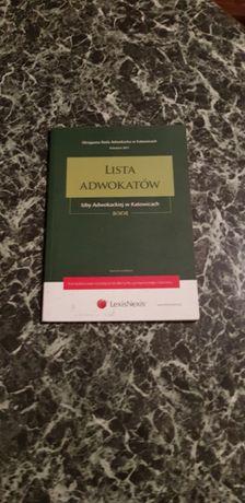 Lista adwokatow Izby adwokackiej w Katowicach