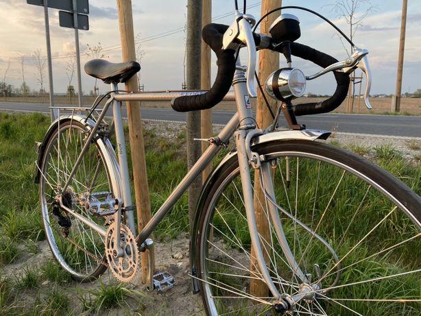 Piękny Rower Szosowy Peugeot 1965-75 Chrom Licznik Odrestaurowany