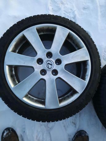 Alufelgi 225x45x18 z oponami zimowymi Toyota,Lexus,Honda,Mazda 5x14.3