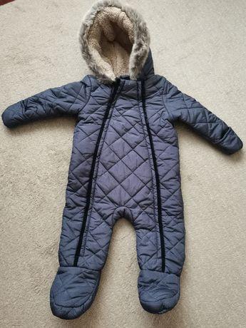 Macacão/Fato de neve com forro de pêlo - 9/12 meses