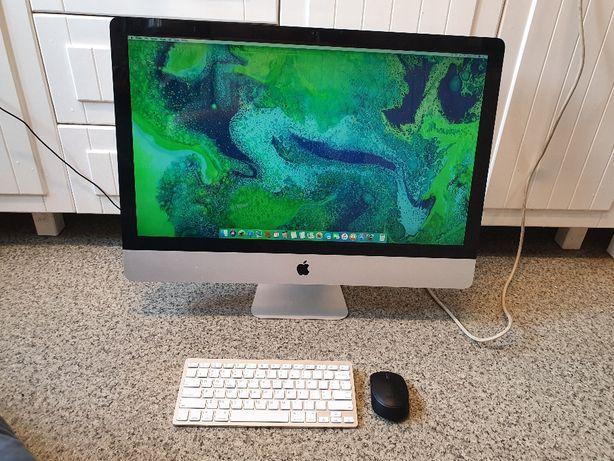 """Apple iMac 27"""" core i5 2700mhz 16gb 240gb ssd klawiatura mysz"""
