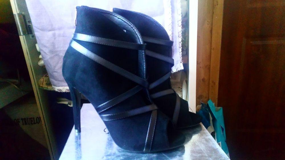 Czarne buty na szpilce Ostrowiec Świętokrzyski - image 1