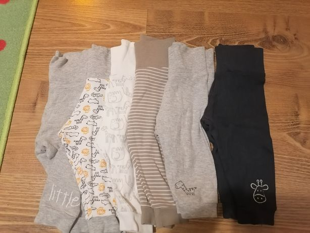 Spodnie niemowlęce 62-68