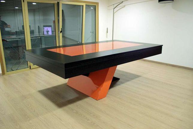 Bilhar EQUILIBRIUM oferta tampo de jantar reversivel a ping pong