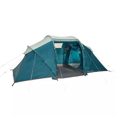 Nowy namiot NAMIOT 4 osobowy QUECHUA arpenaz 4.2  2 komorowy