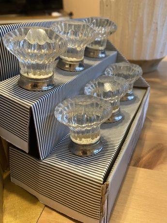 Kryształowe/szklane gałki/uczwyty do szafek