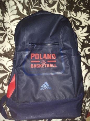 Plecak koszykówka Adidas reprezentacji szkolny koszykówka treningowy