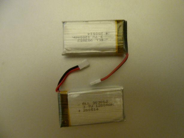 Akumulatorek do modeli LI-PO rc 1s 3,7v 1200mah