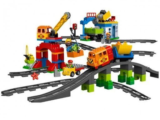 Породам lego duplo поезд 10508