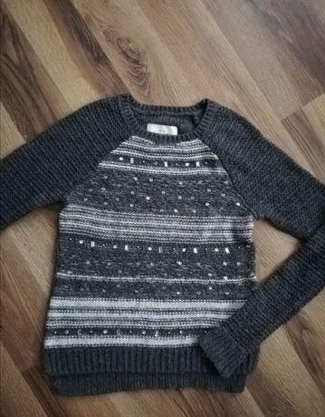 ABERCROMBIE & FITCH sweter dla dziewczynki 142-148cm