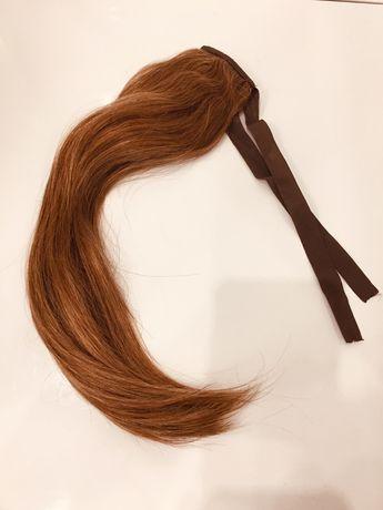 Włosy naturalne, koński ogon 40 cm
