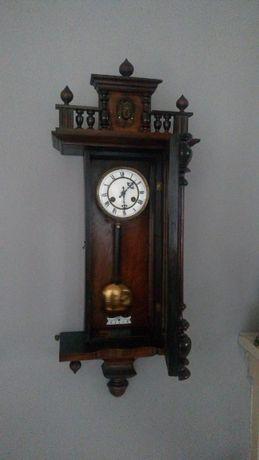 zegar wiszący,ścienny Junghans, antyk