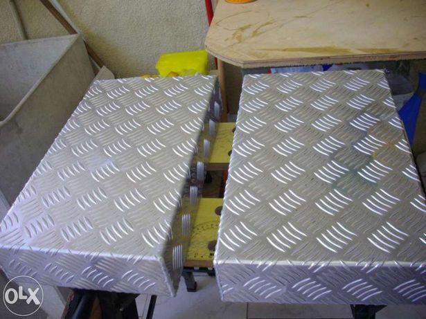 CHASSIS em alumínio p/amplificador a válvulas, etc