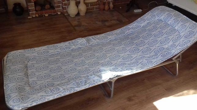 Łóżko polowe turystyczne składane aluminiowe