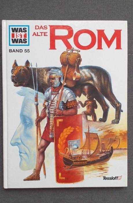 Das alte Rom. Starożytny Rzym. Album niemieckojęzyczny dla dzieci.