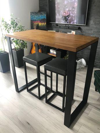 Stół dębowy Barek LOFT/industrialny