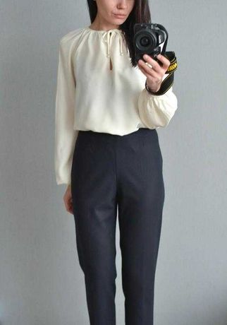 Шелковая блузка люкс сегмента Аltuzarra