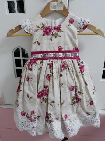 Эксклюзивное нарядное платье на 1-2 -3 года