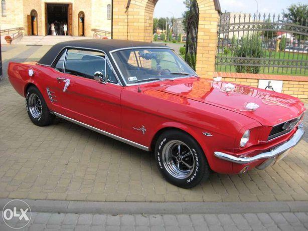 Auta do slubu.Ford Mustang 1966.woj.Podlaskie.-auto do slubu