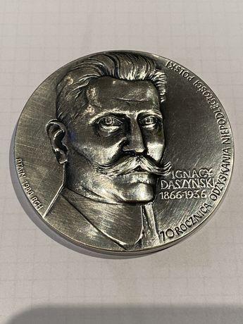 Medal Ignacy Daszyński 1988. Mennica Państwowa