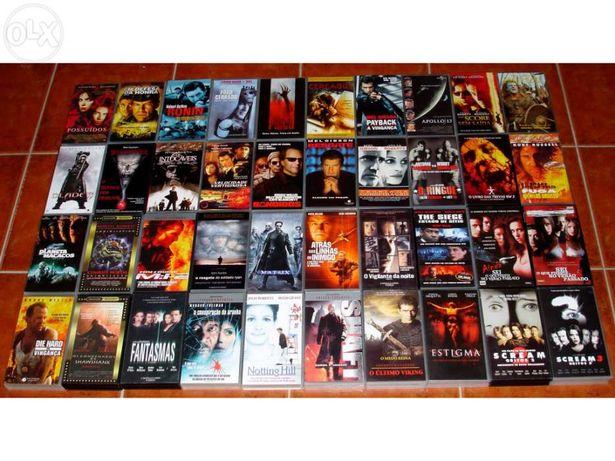 Colecção 40 filmes em VHS
