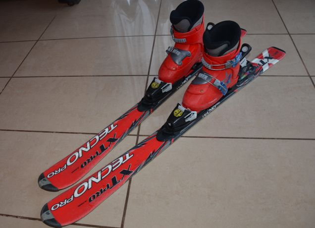 Narty narciarskie TECNO PRO z butami SALOMON