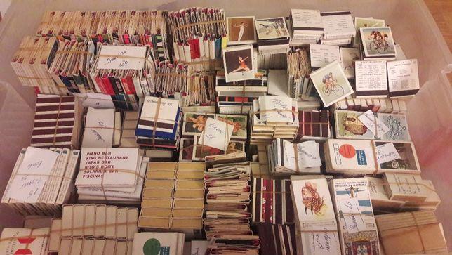 Coleção de Caixas de Fosforos