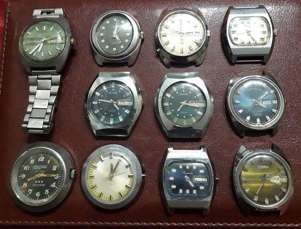 Часы мужские СССР механика 10 штук