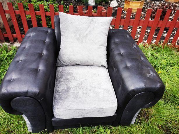 Fotel skórzany nowy