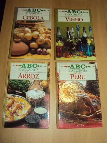 """Coleção """"ABC da Cozinha"""" - conj. 8 livros"""