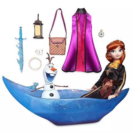 Игровой набор Анна в ледяной лодке м/ф Холодное сердце 2