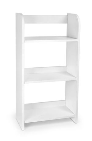 Drewniany Regał Prosty Biały 102/246037