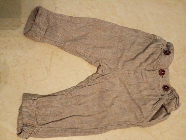 Spodnie z lnu Next rozm.74