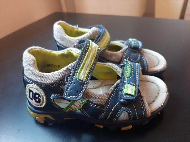 Sandałki chłopięce rozmiar 25