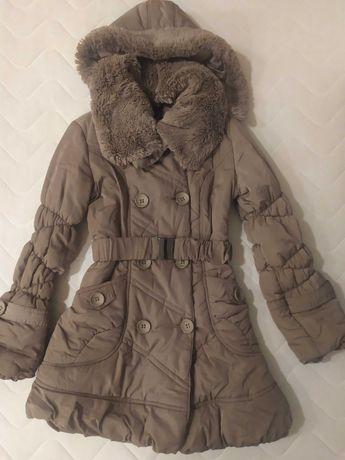 Kurtka płaszczyk płaszcz zimowy rozmiar S