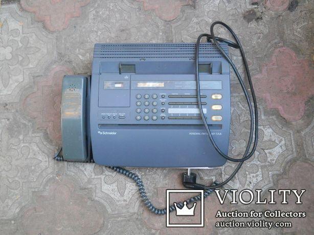 Факс немецкий Schneider, нерабочий + кассета для записи