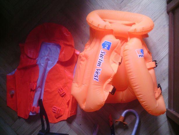 детский набор Надувной Детский жилет трубки для плаванья маска