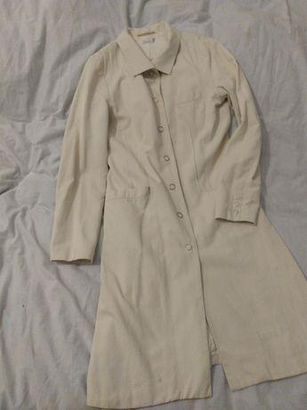 Solar płaszcz wiosenno-letni waniliowy M